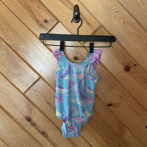 Cat & Jack Geometric Pastel Swimsuit 3T One Piece